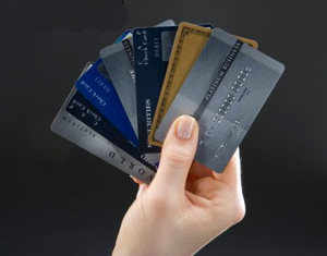 Guard your credit card I Elastic with plastic