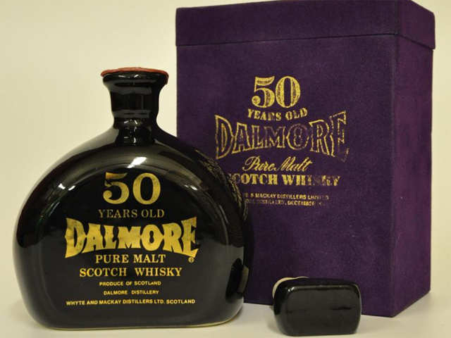 Dalmore 50-Year-Old ($11,000) - The top 10 most expensive