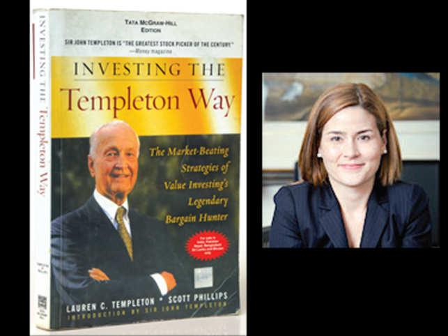 In pic: Lauren C. Templeton (Right)'s book 'Investing the Templeton Way'.