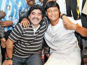 In 2012, Chemmanur invited Diego Maradona to be his brand ambassador and Maradona's arrival helped him in getting free media coverage across the country.
