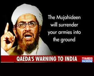 View: Al-Qaeda threatens India