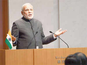 """Prime Minister Narendra Modi today deplored the """"expansionist"""" tendency among some countries which """"encroach"""" upon seas of others."""