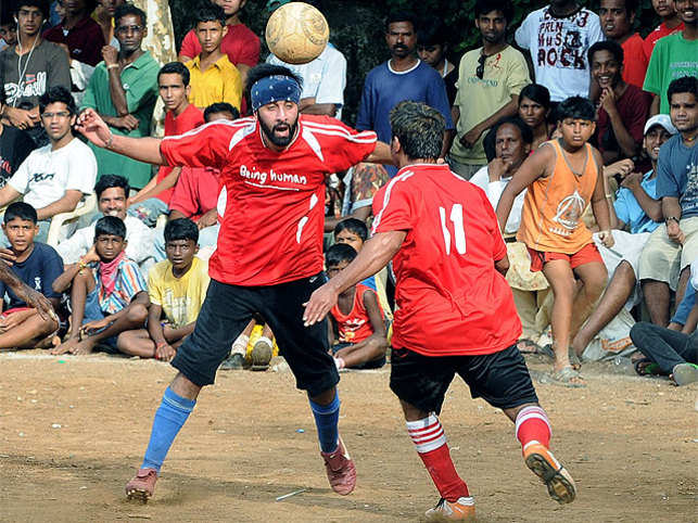 """""""This is my personal money. But I don't look at it as business.I would like to use that money to build football in the country rather than just look at it as a business,"""" says Ranbir."""