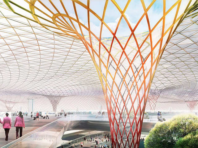 13f3c5c6ca1 Mexico unveils futuristic design for new  9-bn airport - First-of ...