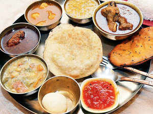 Restaurants gearing up to serve bengali food during durga puja the the taj palace hotel in new delhi is offering bhaja bengali muger dal from east india forumfinder Image collections