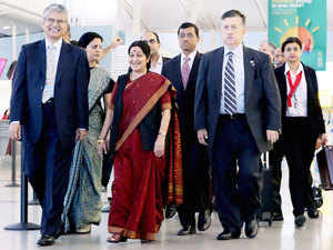 The External Affairs Minister is scheduled to meet nearly 100 foreign ministers during her visit to the US and will also join the delegation of PM Modi.