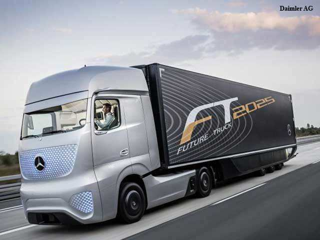Future Truck 2025: Mercedes-Benz's self-driving truck