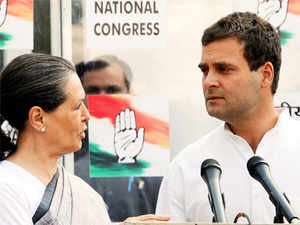 Congress president Sonia Gandhi and vice president Rahul Gandhi today said their party is with the people of the state and assured all help to mitigate their suffering.
