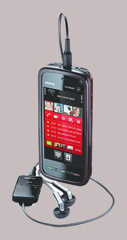 Black beauty: Nokia 5800 XpressMusic - The Economic Times
