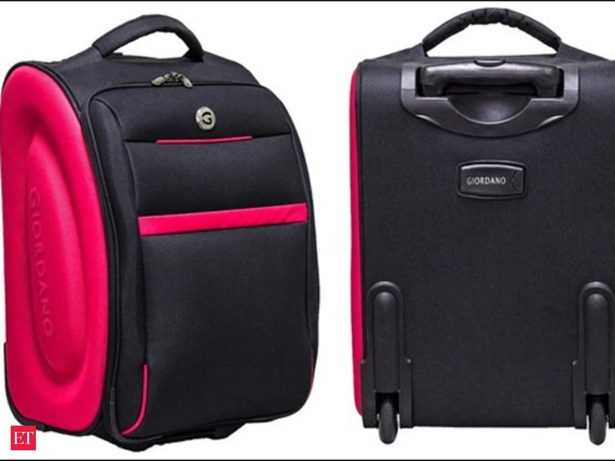 52f98dde0658 Giordano Cabin Luggage Trolley - The Economic Times