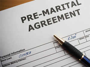 A Prenuptial Agreement Is A Contract Between Two Individuals Who Are About  To Get Married,