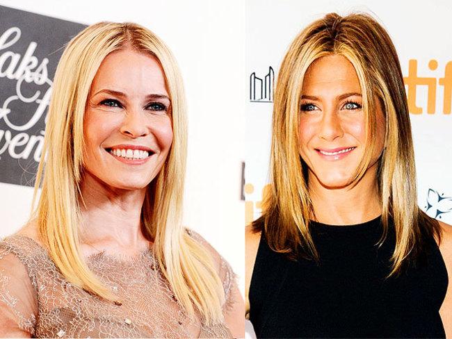 Chelsea Handler says pal Jennifer Aniston doesnt care