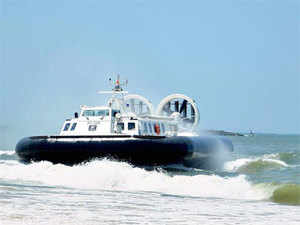 11th Hovercraft for Coast Guard inducted into service - The Economic