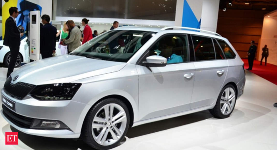 2015 skoda fabia combi debuts at paris motor show 2015 skoda fabia combi the economic times. Black Bedroom Furniture Sets. Home Design Ideas