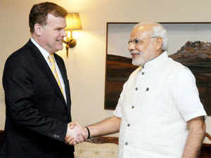PM Modi pitched for closer engagement between India & Canada in areas of trade & investment, nuclear energy, healthcare, infrastructure development.