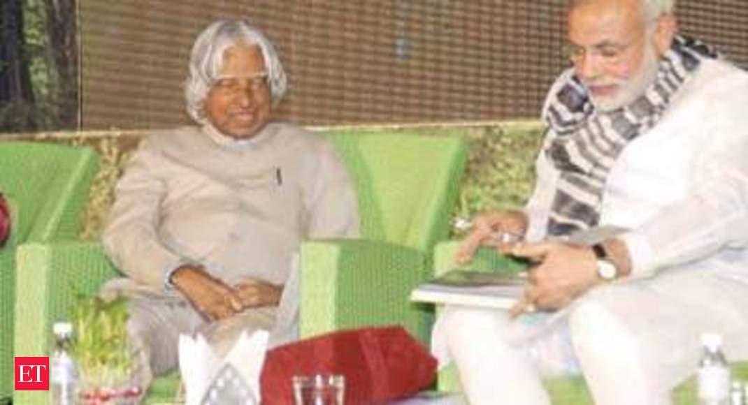 Pm Narendra Modi Wishes A P J Abdul Kalam On His Birthday The Economic Times