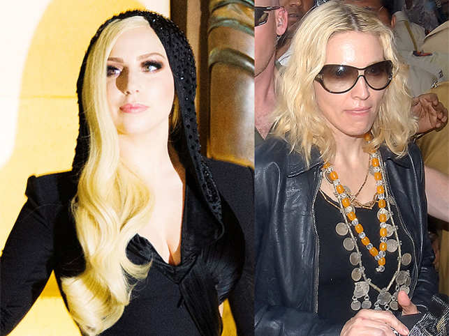 """Gagaadded, """"I would like to say Madonna, but let me tell you something. If I was an established artist, I would love to help younger artists."""""""