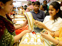 Gold merchants have been accumulating ample supplies in anticipation of rise in demand during this festival season and the following wedding season.