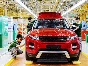 Changshu Tata S Jaguar Land Rover Today Rolled Out Its Premium Luxury Range Evoque At A Colourful Ceremony Here Inaugurating First Overseas