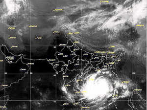 insat 3d helped in tracking cyclone hudhud accurately imd the