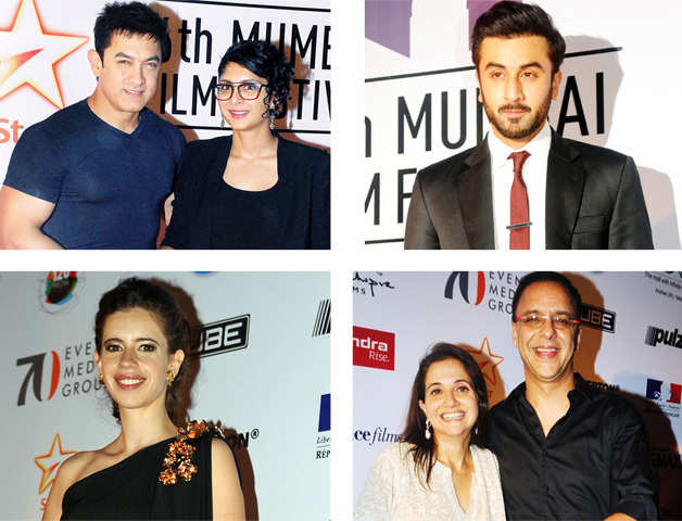 A starry turnout at the MAMI film festival