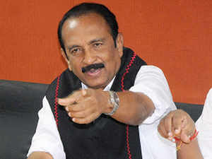 """""""Though the previous UPA discreetly helped Sri Lanka against Tamils, it later backtracked but the BJP government is openly aiding Colombo"""", he said."""