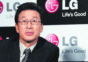 Moon B Shin, managing director, LG Mobile's
