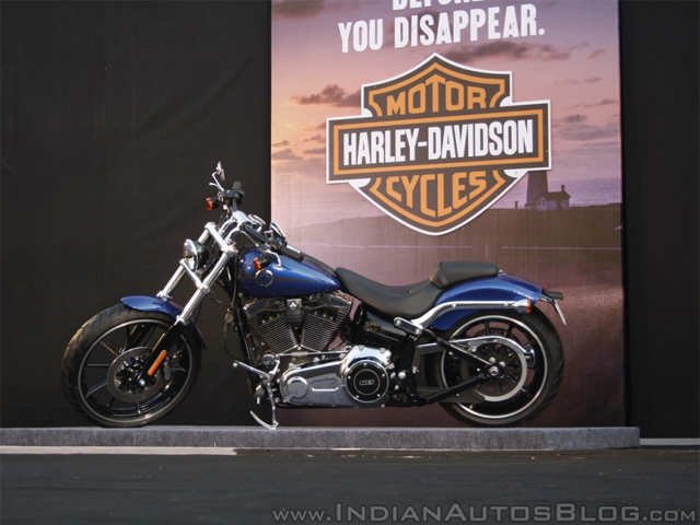 Harley Davidson Breakout launched in India - Harley Davidson