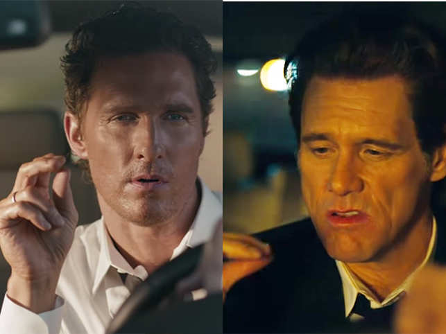 matthew mcconaughey jim carrey boost lincoln sales the economic times
