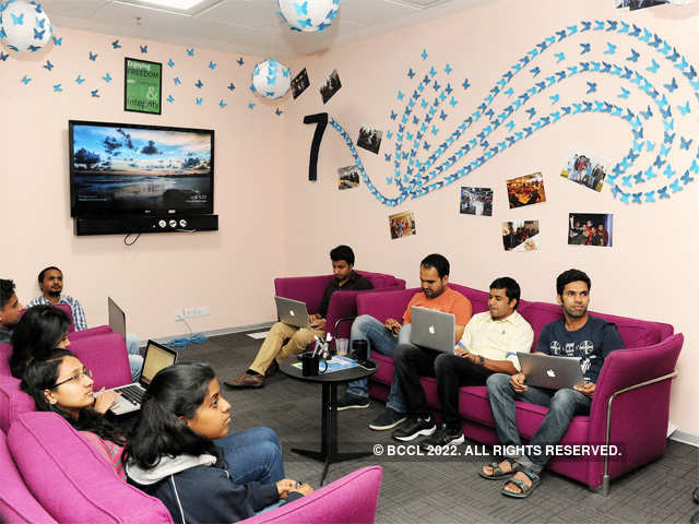 Sunny Side Up Inmobi Bangalore Office Gets A Chic
