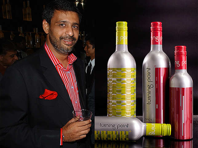 """Ashwin Deo, founder of Trinity Vintners Pvt Ltd, considers """"bottled sangria"""" a concept that takes the fuss out of wine."""