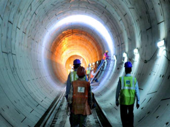 Delhi Metro Completes Shalimar Bagh Azadpur Tunnelling
