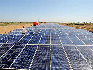 Officials of the company, the world's fourth largest manufacturer of photovoltaic (PV) modules, participated in the WEF held in Delhi last week.