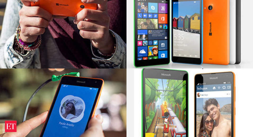 The smartphone runs Windows Phone 8 1 - Microsoft unveils