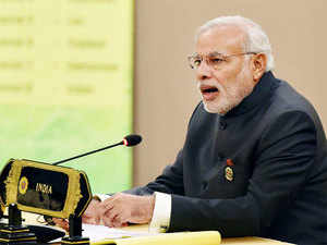 Though Modi did not name any country but the comments may be seen as targeting China which is engaged in maritime territorial disputes with a number of its neighbours.