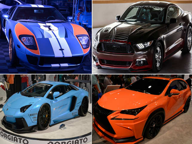 Every year, for SEMA, car companies and specialty tuners bring the coolest and craziest