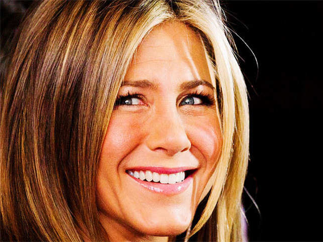 Aniston, now 45, said she has been in a much better place since hitting the milestone, which is something she credits to her career, friends, and relationship with fiance Justin Theroux.