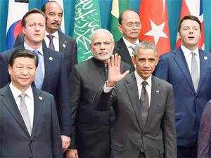 Prime MinisterNarendraModitoday carried on with his hectic international diplomacy holding parleys with world leaders.