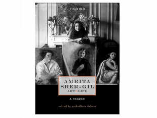 """Dwelling more into her life and work, art historianYashodharaDalmiapaints the portrait of the young artist in her book """"AmritaSher-Gil: Art and Life, A Reader"""" published by Oxford University Press. (Image: amazon.com)"""