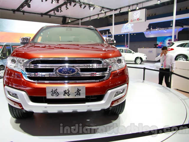 India Bound 2015 Ford Endeavour