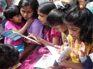 According to data on literacy released, India has 24.88 crore households out of which 9.56 crore have at least four members who know to read & write.
