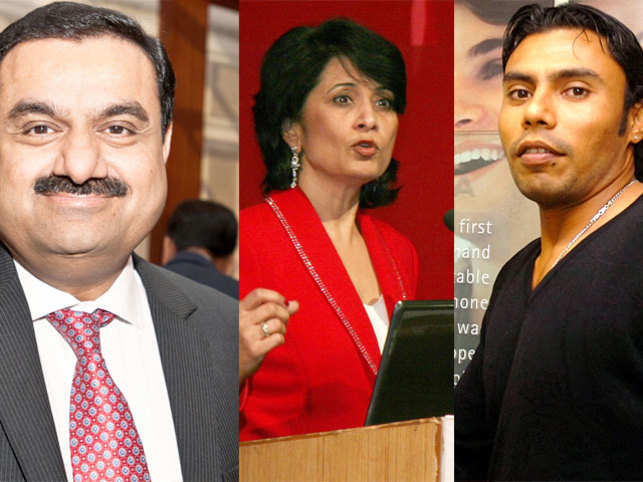 Here is a round-up of Gautam Adani and Renu Khator whose worth went up or today.