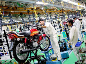 Plant manufacturing engines for cars and motorcycles