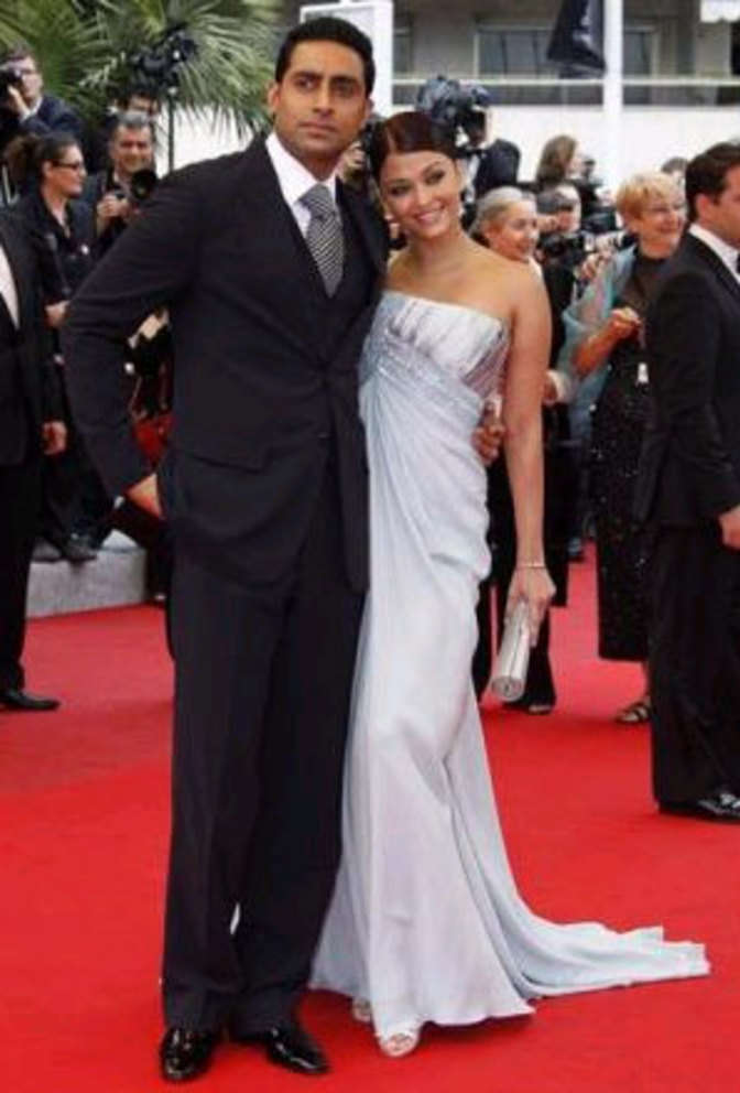 Aishwarya Rai with husband Abhishek Bachchan - | The ...