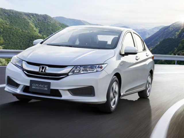 Sport Hybrid Motor Grace New Honda City Hybrid Sedan Unveiled