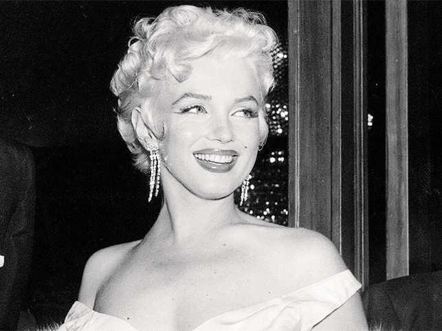 Marilyn Monroe Tops Calendar Icon List The Economic Times
