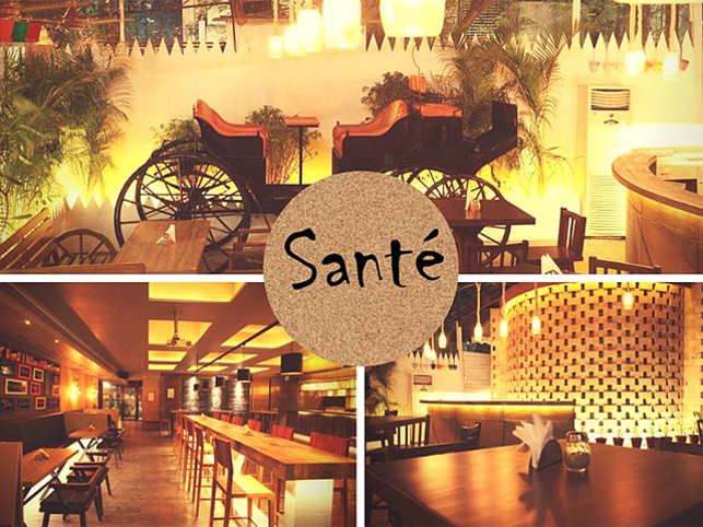 Sante aims to bridge the lowend joint with weekend splurge.