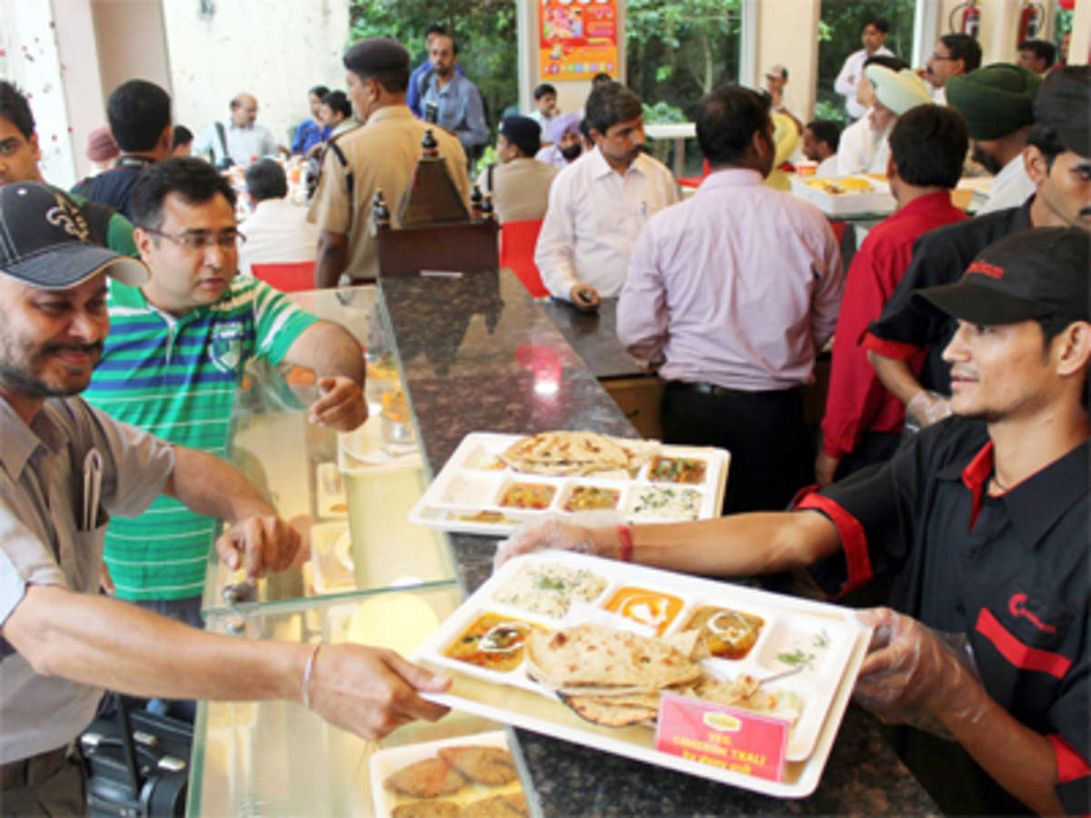 Irctc In Talks With Cafe Coffee Day Pizza Hut And Others To