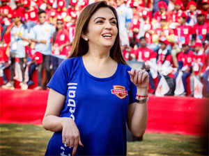"""""""It's just so wonderful to see the response that ISL has received, and football has received more than anything else,"""" Ambani told reporters."""