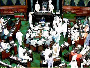 """In his reply, Parliamentary Affairs Minister M Venkaiah Naidu instead charged opposition with """"misleading"""" the nation and said it's a very sensitive issue."""